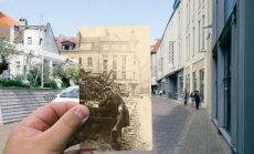 Ceļojums laikā: Rīga Otrā pasaules kara laikā un tagad