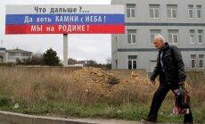 Obama pavēl apturēt visas ekonomiskās attiecības ar Krimu