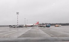 Turpinās izmeklēšana par 'Lada' hokeja komandas lidmašīnas incidentu Rīgas lidostā