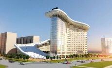 Kazahstānā būvēs māju ar slēpošanas trasi uz jumta