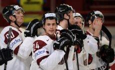 Latvijas hokeja izlase pasaules čempionāta otrajā mačā tiekas ar Vāciju