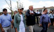 Tramps netic oficiālajam viesuļvētrās Puertoriko bojāgājušo skaitam