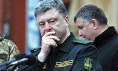 Porošenko: karš beigsies tikai tad, kad Ukraina atgūs Donbasu un Krimu