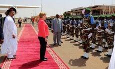 Merkele Nigērai sola 27 miljonu eiro lielu palīdzību