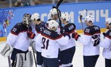 ASV hokejisti droši 'iesoļo' olimpisko spēļu pusfinālā