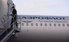 Lielbritānijā pārmeklēta 'Aeroflot' pasažieru lidmašīna