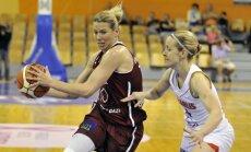 Jēkabsones-Žogotas atgriešanās mačā Latvija apspēlē Baltkrieviju