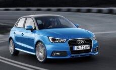 Modernizētais 'Audi A1' – pirmais markas modelis ar trīscilindru motoru