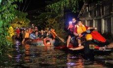 Foto: Tropiskajā vētrā Filipīnās gājuši bojā vismaz 200 cilvēki