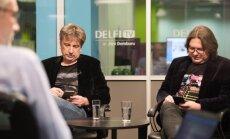 'Nezini, kur pudeles nodot': Grauba un Ēķis par izaicinājumiem, divdomībām tulkojumā un digitālgeitu