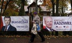 Polijā notiek parlamenta vēlēšanas