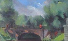 Par rekordaugstu summu pārdota Konrāda Ubāna glezna 'Pēc lietus'