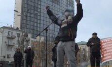 Video: Beness Aijo Doņeckā biedē ar NATO un 'Černobiļu'