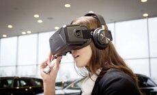 'Audi' pircēji savu jauno auto izmēģinās virtuālās realitātes brillēs