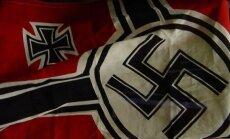 Skandāls Bulgārijas futbolā: tribīnēs manīti bērni ar nacistiskiem simboliem