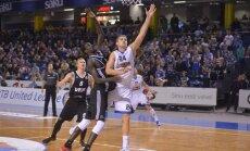 Foto: Freimaņa izcilais sniegums ļauj 'Kalev' pieveikt 'VEF Rīga' basketbolistus