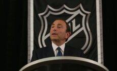 NHL komisārs: visdrīzāk olimpiskās spēles būs bez NHL spēlētājiem