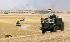 Kurdistāna plāno dibināt pešmergas gaisa spēkus