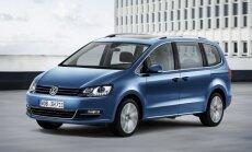 VW modernizējis 'Sharan' modeli