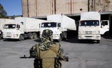 Krievija gatavojas sūtīt uz Ukrainu ceturto 'humānās palīdzības' konvoju