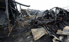 Krievijā pēc ugunsgrēka Kazaņas lielveikalā joprojām pazuduši 25 cilvēki