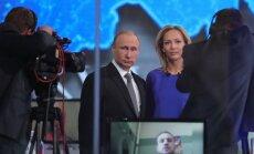 """ВИДЕО: Путин на """"прямой линии"""" ответил про Кадырова, офшоры и """"порядочного Обаму"""""""