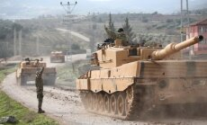Турецкая армия атаковала 153 цели курдов в Сирии