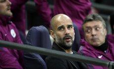 UEFA Gvardiolam piespriež divu spēļu diskvalifikāciju