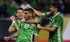 Meksika cīnās neizšķirti ar Venecuēlu un izvairās no potenciālās spēles pret Argentīnu