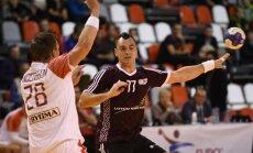 Latvijas handbola izlase pārbaudes spēlē zaudē Vācijas otrās līgas komandai