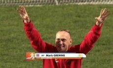 Vieglatlēts Grēniņš izcīna zelta medaļu pasaules nedzirdīgo olimpiādē