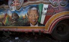 Zuma: Mandelas veselības stāvoklis uzlabojas