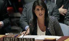 Asada režīms Sīrijas konfliktā vismaz 50 reizes izmantojis ķīmiskos ieročus, norāda ASV sūtne ANO
