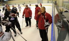 Rīgas 'Dinamo' atsākuši treniņus pēc neilgas pauzes