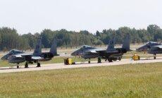 Beļģija pārņēmusi NATO Baltijas gaisa telpas patrulēšanas misiju no Emari bāzes