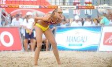 Латвийские волейболистки завоевали золото молодежного чемпионата Европы