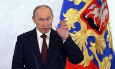 Putins vēl nav izlēmis par karaspēka nosūtīšanu uz Ukrainu
