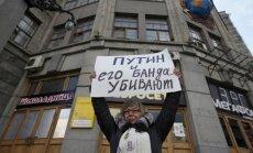 Maskavā notikuši opozīcijas aktīvistu individuālie piketi