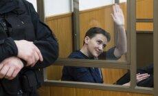 Savčenko pārtrauks bada streiku