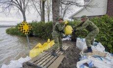 Monreālā plūdu dēļ izsludina ārkārtas stāvokli