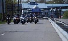 Lietuvas robežsargi neielaiž valstī trīs Krievijas motociklistus