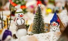 ФОТО: На рождественской выставке в Riga Plaza создали царство снеговиков