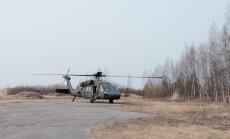 Karavīri Rīgā veiks treniņu - desantēsies no 'Black Hawk' helikopteriem