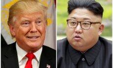 Tramps pieļauj, ka samitu ar Kimu Čenunu nāksies atlikt