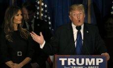 Ņūhempšīras priekšvēlēšanās uzvar Tramps un Sanderss