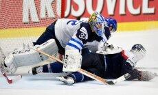 IIHF 'spēka rangs': somu vārtsargs apstādinās arī nāvējošu asteroīdu