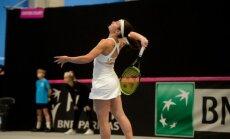 Latvijas tenisistes Federāciju kausa rangā pakāpušās uz 15.vietu
