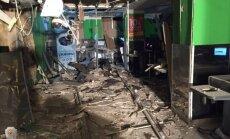 Saistībā ar sprādzienu lielveikalā Sanktpēterburgā aizturētais atzinis savu vainu