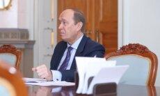 Посол России Вешняков нанесет прощальный визит президенту Латвии