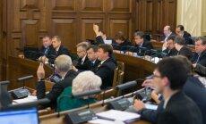 Saeimā iekļuvušās partijas no nākamā gada varētu saņemt 611 413 eiro valsts finansējumu